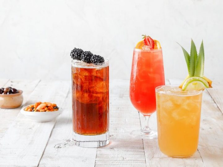 Cocktails bière Monin