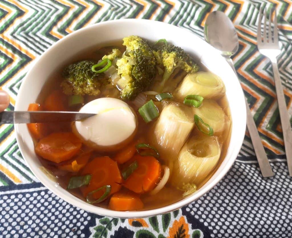 Recette de Ramens Végétariens