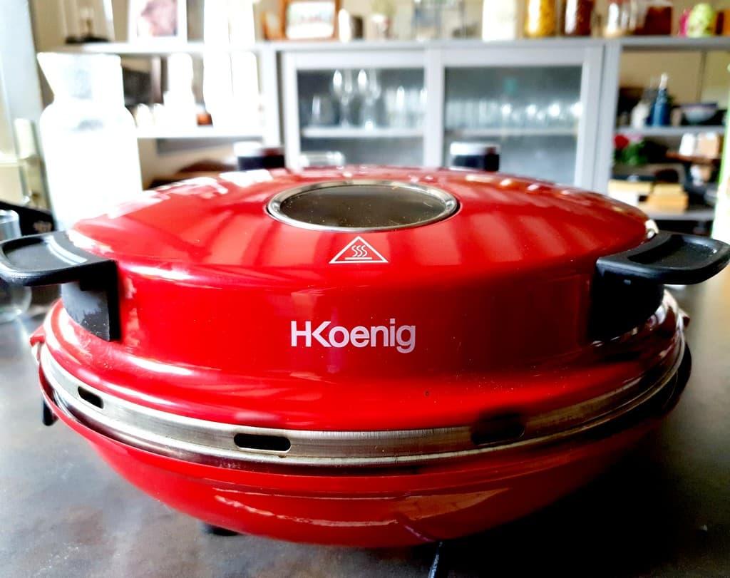 Le four à pizza H.Koenig réalise de belles pizze maison