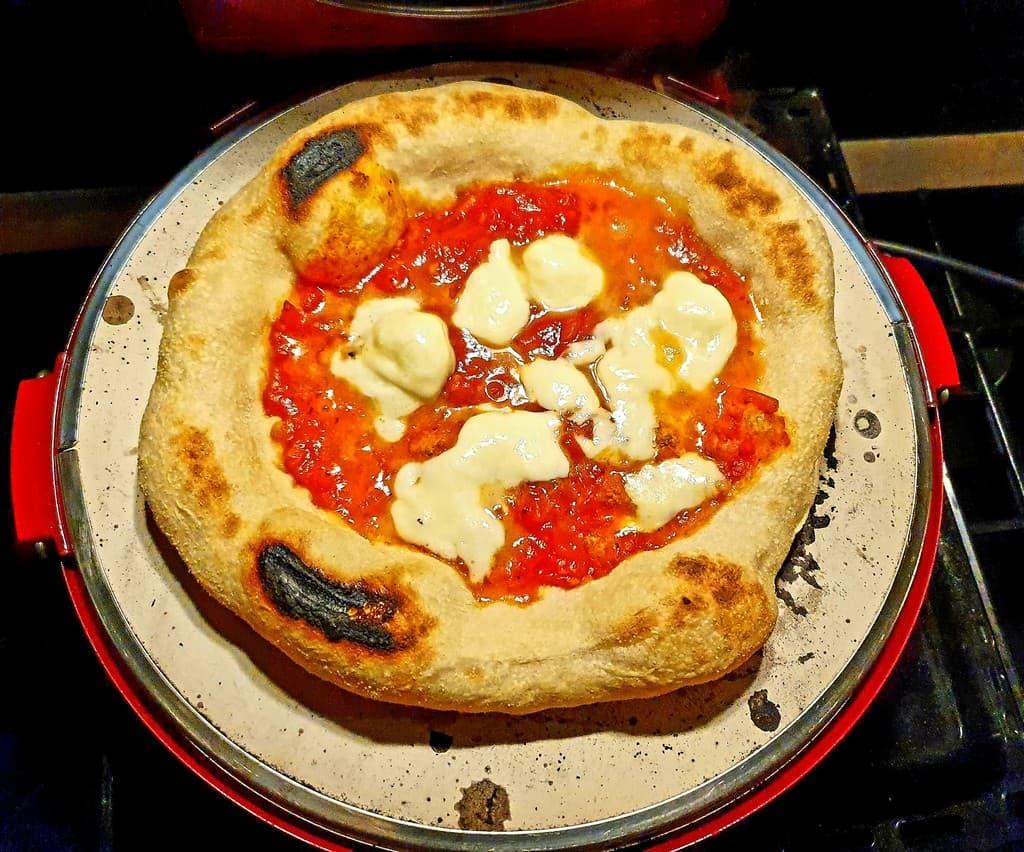 Test du four à pizza H.Koenig