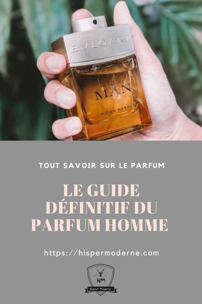 Guide définitif du parfum homme