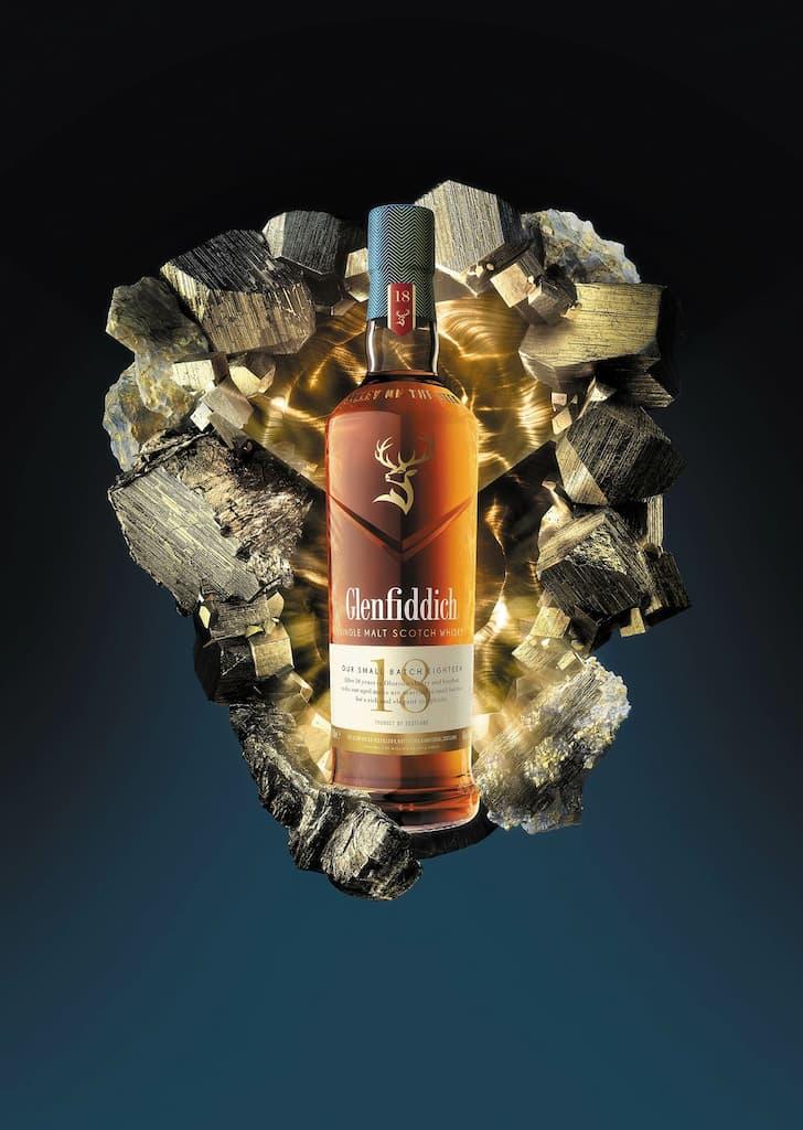 Single malts Glenfiddich : 18 ans small batch